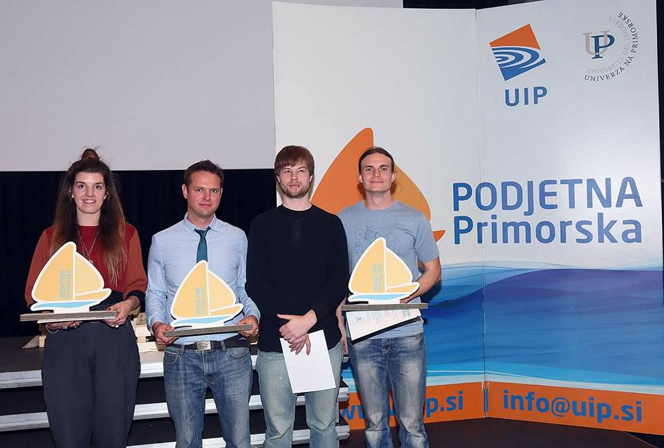 Podjetna primorska 2017 – 3 winners in 3 categories